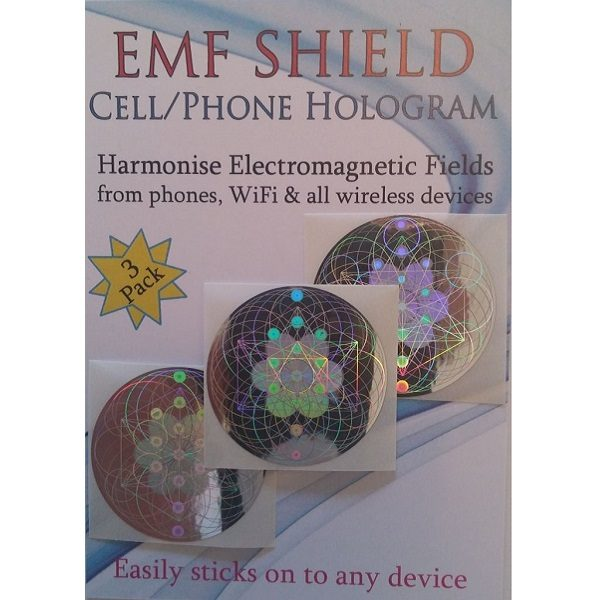 EMF Shield 3-pack holograms