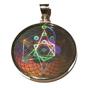 EMF Shield Protection Hologram Pendant